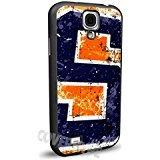 Syracuse Orange Cell Phone Hard Plastic Case for Samsung Galaxy S4 Mini (Syracuse Galaxy S4 Phone Case)
