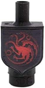 Boquilla 3D Sapiens para Shisha o Cachimba Casa Targaryen - Juego de Tronos