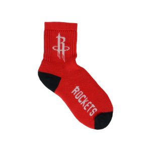Houston Rockets For Bare Feet Ankle TC 501 Socks (MEDIUM)
