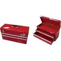 Caja de herramientas metálica 341000101: Amazon.es: Bricolaje y ...