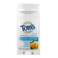 Deodorant Stick, Long Lasting Apricot 2.25 oz (Pack of 3)