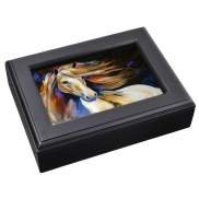 (Marcia Baldwin Wind II Horse Jewelry Music Box by Westland)