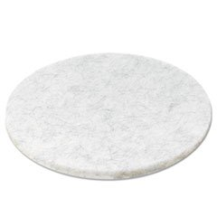Boardwalk Ultra High-Speed Floor Pads, Natural Hair/Polyester, 20-Inch Diameter, 5/Carton ()