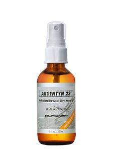 Argentyn 23 Professional Bioactive Silver Hydrosol 23 PPM Fine Mist Spray, 2 Ounce