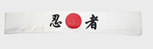 White Sushi Headband Japanese Symbol product image