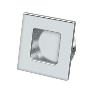 (Deltana FLUSH PULL, SQUARE, HD, 2-3/4