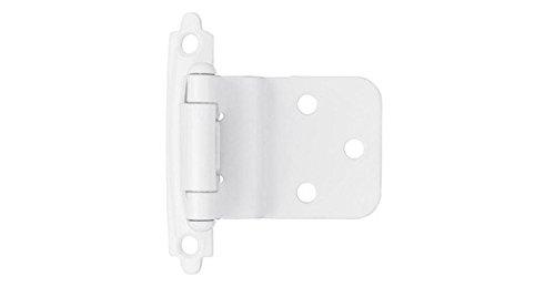kitchen cabinet hinges white - 5