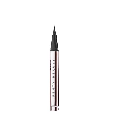 - FENTY BEAUTY BY RIHANNA Flyliner Longwear Liquid Eyeliner TRIAL size in Cuz I'm Black - 0.007 oz/0.2 mL