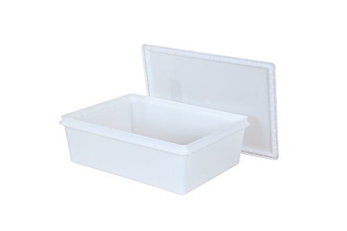 "Fish Tubs/Food Storage Bins 25lb 11.5"" x 15.5"" x 5"" (Pack of 10 Combos)"