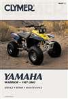 Yamaha YFM80 MOTO-4, Badger & Raptor 1985-2008 (CLYMER MOTORCYCLE REPAIR)