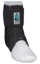 Med Spec ASO Ankle Stabilizer Orthosis EVO, Black, XX-Large by Medspec/ASO -
