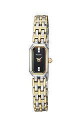 Pulsar Women's  PEX539 Crystal Two-Tone Watch