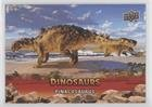 Pinacosaurus (Trading Card) 2015 Upper Deck Dinosaurs - [Base] - Extinction Red #83