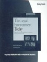 Study Guide for Miller/Cross' The Legal and E-Commerce Environment Today, 5th