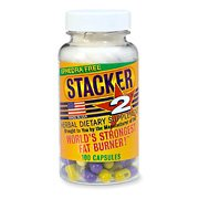 Stacker 2 Ephedra Free, Bitter Orange Free, Fat Burner, 100-Count (Stacker 2 Fat Burner)