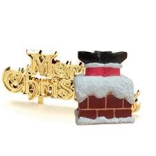 santa-stuck-in-the-chimney-cake-topper-and-motto