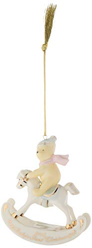Lenox 2018 Winnie The Pooh Baby's 1st Christmas Ornament ()