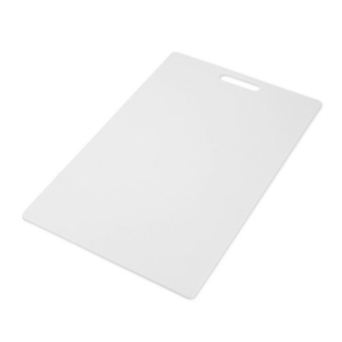 Farberware Poly Cutting Board 12-Inch by 18-Inch, White