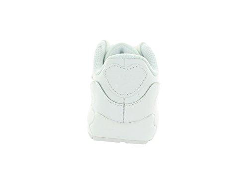 Nike Air Max 90 Ltr (Td), Zapatos de Primeros Pasos para Bebés Blanco / Gris  (White / White-Cool Grey)