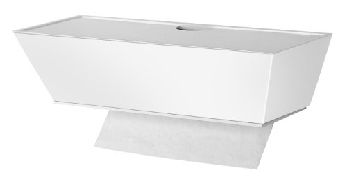 Wood multifold paper towel dispenser,interlocking single ...