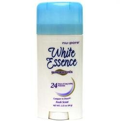 24 Hour Protection Deodorant Stick (White Essence Fresh Scent Deodorant Stick - 24 Hours of Long Lasting Protection, 2.25 oz,(Nupore))
