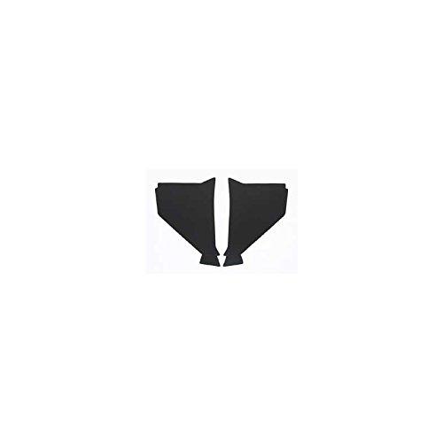 Eckler's Premier Quality Products 57-136598 Chevy Kick Panels, Black,