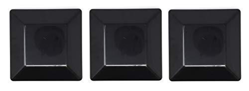 BLACK-6X6 Fence Post Plastic Cap- Pick a Pack (5 5/8 X 5 5/8) Pressure Treated Wholesale/Bulk Pricing (3)