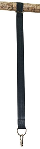 Max Installation Kit (COMINGFIT Tree Swing Hanging Strap Kit One 42 Inch Strap With Safer Screw Lock Snap Carabiner Hook - Perfect For Tire and Disc Swings - Holds Up To 600 Lbs)