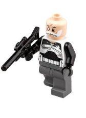LEGO Star Wars Minifigure Commander Wolffe with Blaster Gun (75157) ()
