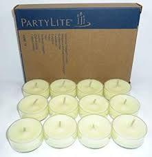 Partylite Lot de 12 Bougies Chauffe-Plat Menthe poivr/ée