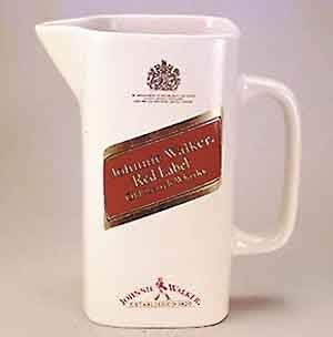 Johnnie Walker Red Label Water Jug