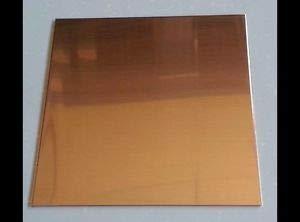 "Copper Sheet Plate .021/"" 16oz 24 gauge 24/"" x 24/"""
