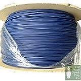 Câble bougie d'allumage 7mm HT - Silicone bleu cœur graphite