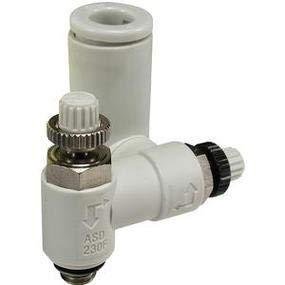 SMC ASD530F-N02-11S-J Dual Speed controlw/Fitting