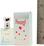MOSCHINO FUNNY! by Moschino for WOMEN: EDT .13 OZ MINI (note minis approximately 1-2 inches in height)