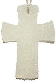 Bible Verse Candles for God So Loved The World Vanilla Air Freshener Cross Shape Car Bar Freshie Car Candle Ornament