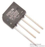 Vishay General Semiconductor - 2kbp005m-e4/51 - Bridge Rectifier, 1ph, 2a, 50v, D-44-4
