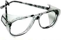 B52 Clear Safety Glasses Side Shields for Medium to Large - Glasses Shields