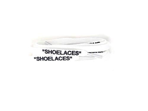 (xxiii -Shoelaces Custom Text Printed Shoe Laces Swap Font - Flat Cotton Design)
