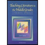 Teaching Literature in the Middle Grades : A Thematic Approach, Moss, Joy, 1929024061
