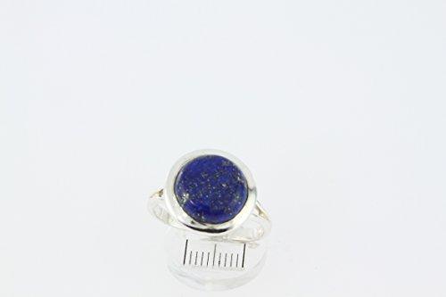 Bague en Lapis-lazuli 42-05 - Bijoux en argent rhodié et Lapis-lazuli - Toutes tailles et diverses pierres - ARTIPOL