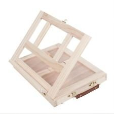 Art Alternatives Marquis Artists Adjustable Desk Box Easel, Natural from MACPHERSONS