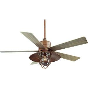Outdoor Ceiling Fans With Lights Copper