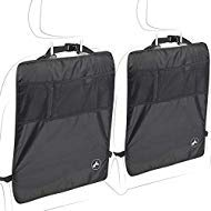 Protect your car seat from your passenger's dirty foot prints with our protective seat kick mats.