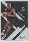Michael Redd #249/499 (Basketball Card) 2010-11 Prestige - Prestigious Pros - Green Materials [Memorabilia] #22