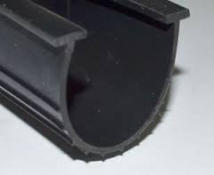 Garage Door Parts CLOPAY T-End Bottom Rubber Seal - 4 1/2x10 by Clopay