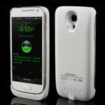 3000mAh External Battery Power Bank Case for Samsung Galaxy S4 Mini I9190 I9195 - White