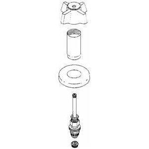 Sterling Tub And Shower Repair Kit Faucet Trim Kits