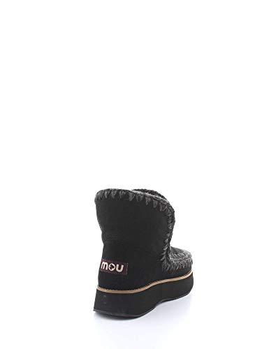 Runeski18 Mujer Sneakers Mou Negro bkbk H8Saaq