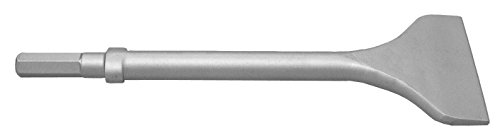 Champion Chisel, 12-Inch Long by 4-Inch Wide .580 Hex Shank Oval Collar Chipping Hammer Chisel